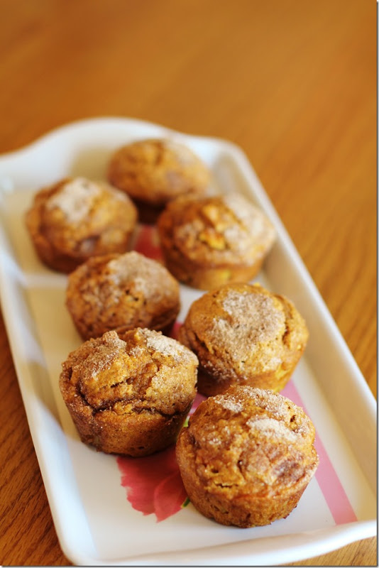 Pumpkin Apple Spice Muffins - Joyful Momma's Kitchen