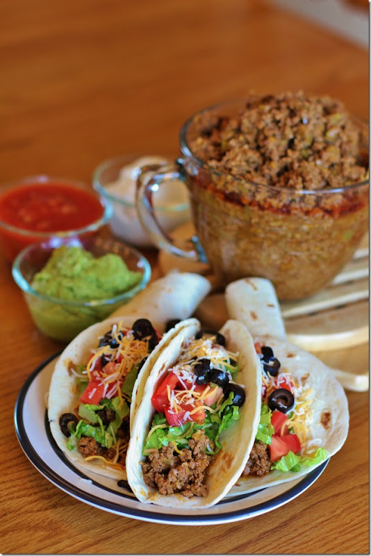 "Secret Recipe"" Taco Filling - Joyful Momma's Kitchen"