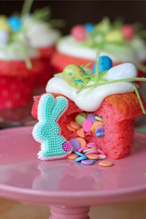 Easter Surprise Cupcakes - Joyful Momma's Kitchen