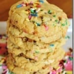 Birthday Cake Cookies