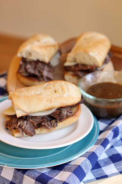 "French Dip and ""Secret Ingredient AuJu"""