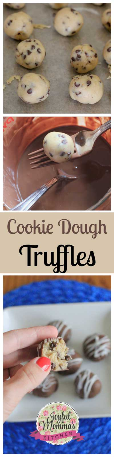 CookieDoughTruffleCollage